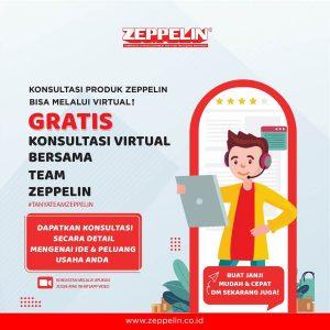 Dapatkan Konsultasi Secara Virtual Mengenai Ide Usaha & Bisnis Sobat Zeppelin!