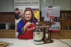 Baking Demo Bersama Chef Lenny Zheng di Titan Baking Cikajang