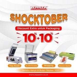 Shocktober Discount EXTRA untuk Packaging Machine