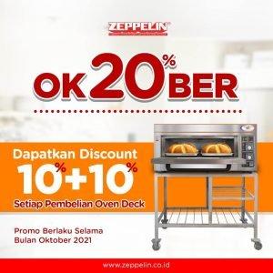 Oven Deck OK20%BER